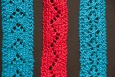 trio of lace hairbands